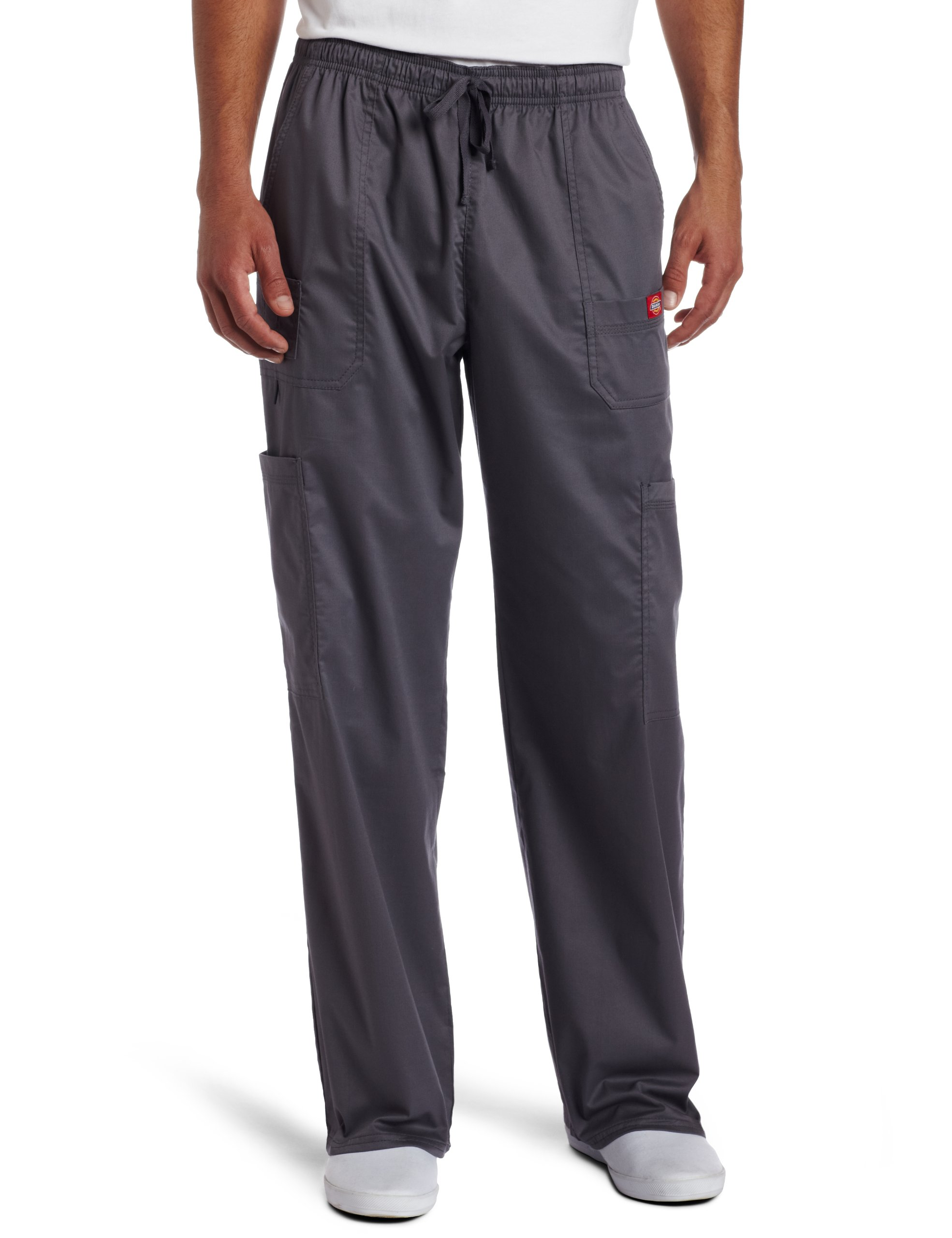 Dickies Generation Flex Men's Youtility Scrub Pants,Pewter,X-Large by Dickies (Image #1)