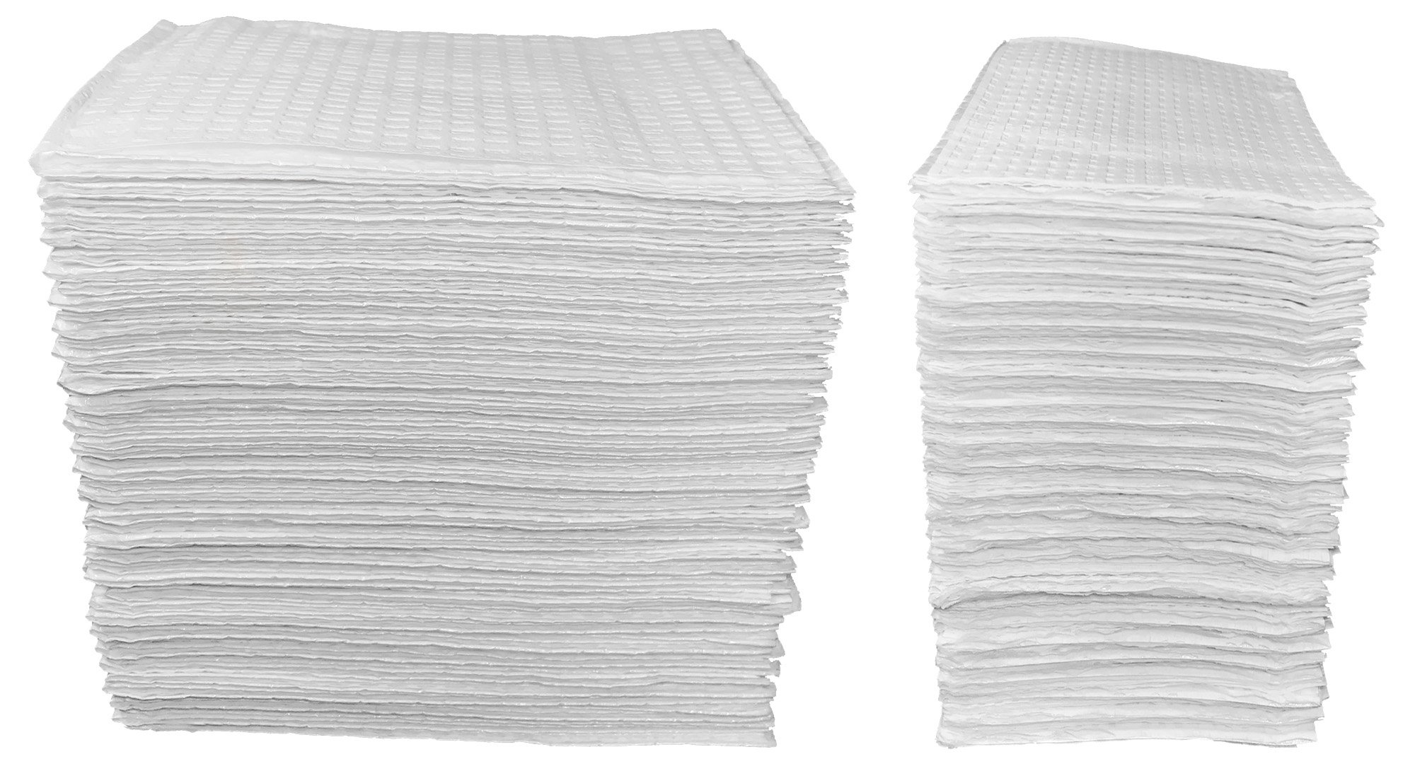 50 Count - White 3-Ply Baby Public Changing Table Liners - 13 in. X 19 in. by Sunshine Gift Baskets