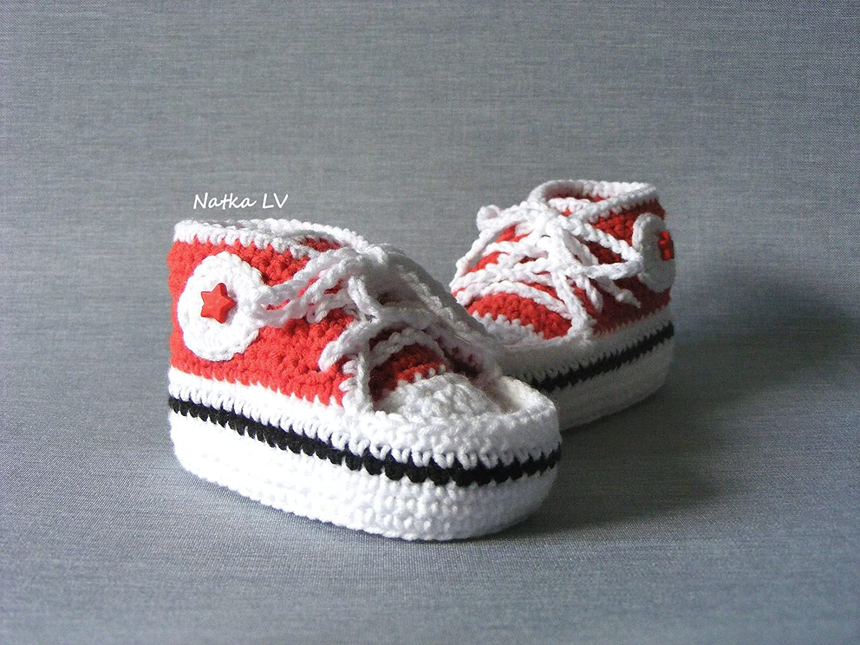 e464e0819 Amazon.com  Baby red booties