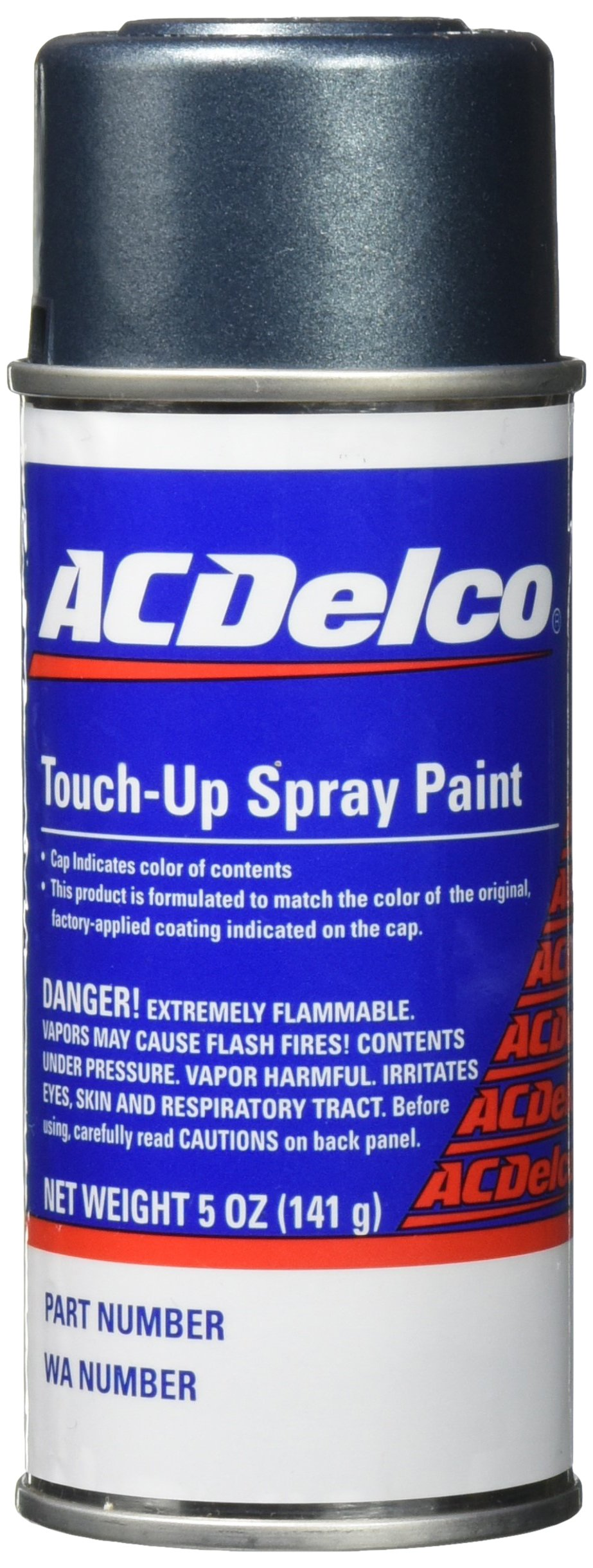 Genuine GM 12346712 Stealth Gray Met Touch-up Paint, Spray (5 oz), Paint Code:  46U, 928L