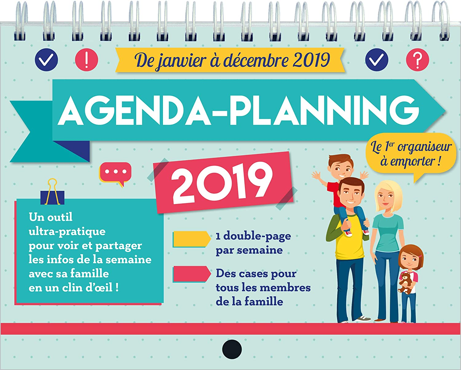 agenda-planning memoniak 2019: Collectif: Amazon.es: Oficina ...
