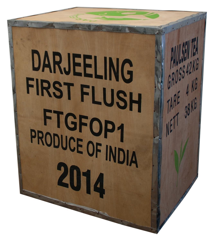 Original Teekiste Darjeeling Indien Gross Aus Holz Bersee 40 X 50 60 Cm Amazonde Kche Haushalt