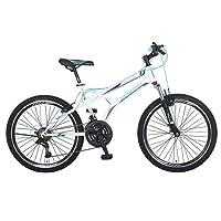 Bicicleta Benotto Fireback FS MTB Acero R24 21V Hombre Sunrace Frenos V