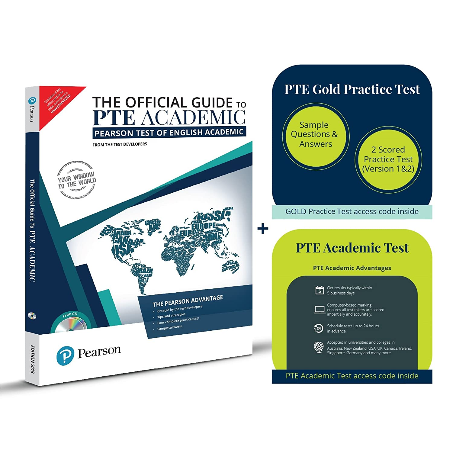 Pearson Education Super Saver PTE Academic Combo: The Official Guide