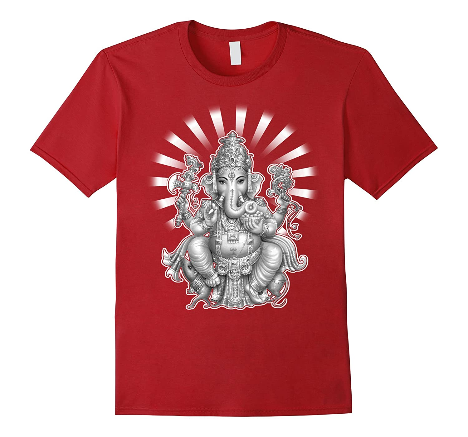 Ganesh Yoga Tee Shirt-Art