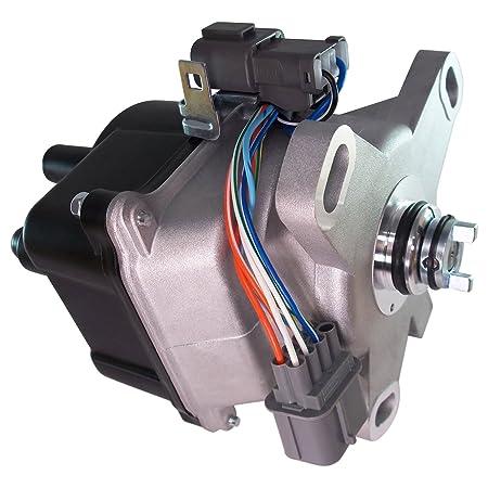 Distribuidor de encendido para 92 - 95 Honda Civic 1.5L 1.6L VTEC - Fits d16z6obd1/td-42u/td42u: Amazon.es: Coche y moto
