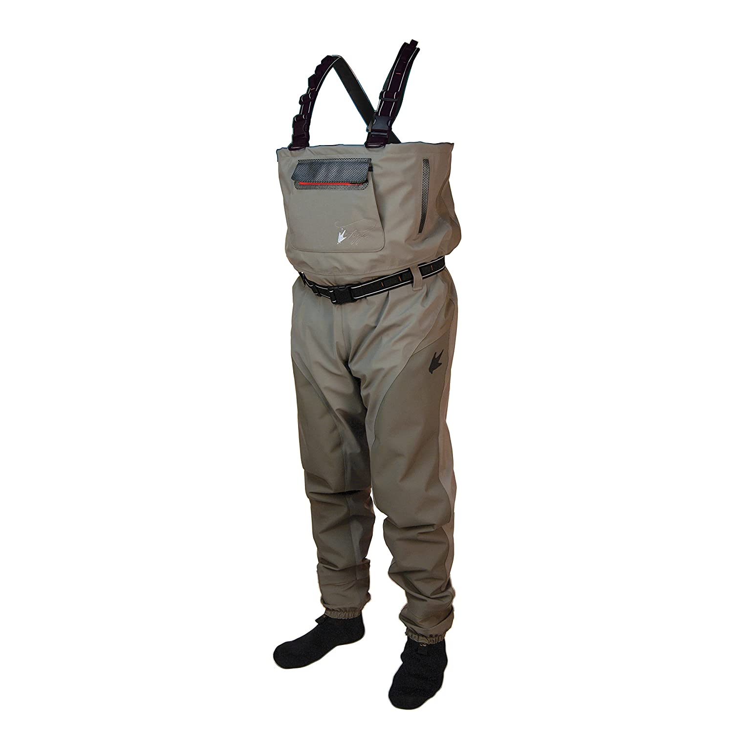 Frogg Toggs Anura II強化ナイロン通気性Stockingfoot wader-stout B01MTNM9VX