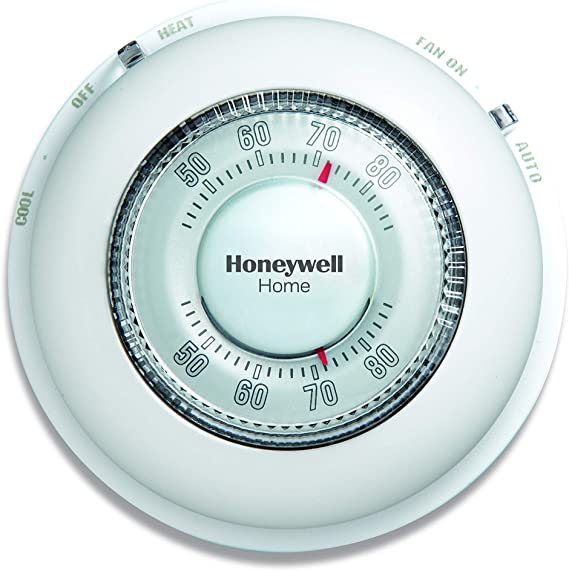 Honeywell CT87N1001/E1 The Round Non-Programmable Manual Thermostat