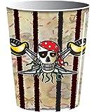 Amscan - Vaso, diseño de piratas