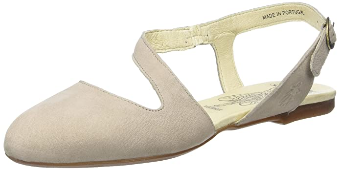 Fly London Mega905, Ballerines Femme, Gris (Concrete 006), 39 EU