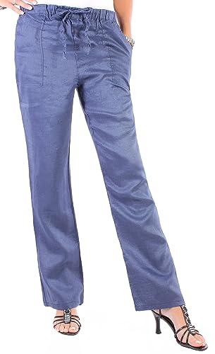 Black Denim - Pantalón deportivo - relaxed - para mujer Mittelblau XL/44