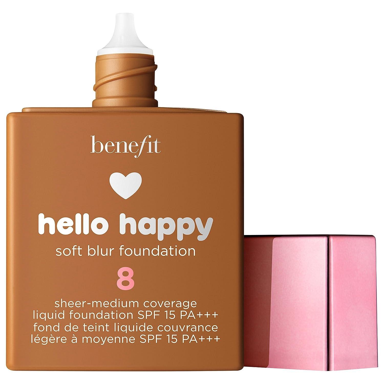 BENEFIT COSMETICS Hello Happy Soft Blur Foundation 30 ml. # 8 - tan warm