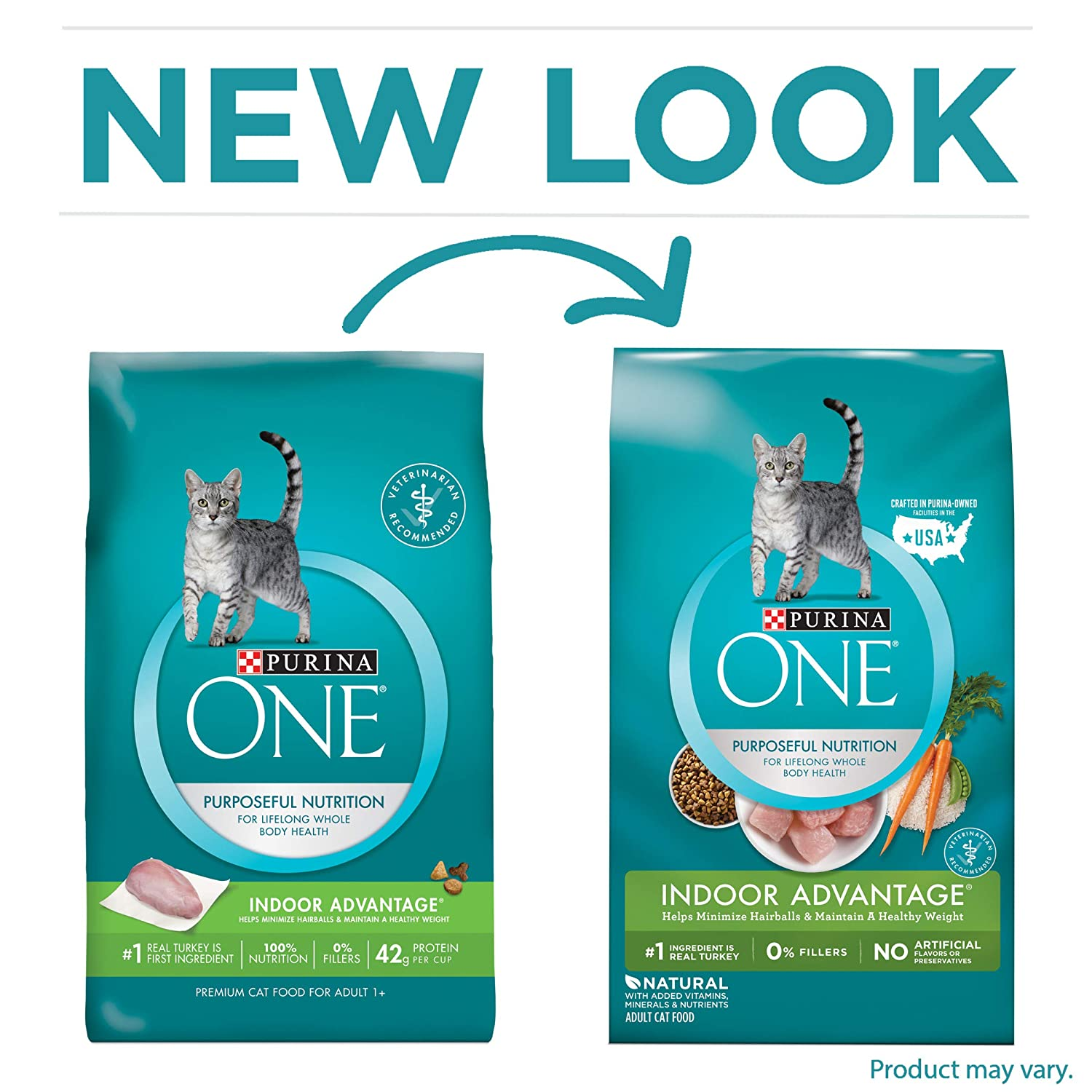 Purina ONE Dry Cat Food 7-Poun...