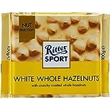 Ritter Sport - Chocolat blanc aux noisettes entières - 100g