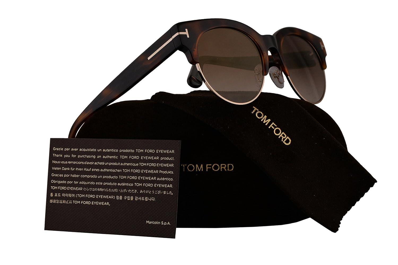 0d65daedc4fb Amazon.com  Tom Ford FT0598 Henri-02 Sunglasses Havana Blond w Brown Lens  53G TF598 FT598  Home   Kitchen