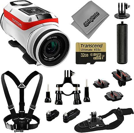 Tomtom Bandit 4 K GPS 32 GB cámara de acción básica Kit de ...