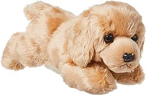 """Aurora World Inc. Flopsie Plush Goldie Labrador Dog, 12"""",Multicolor"""