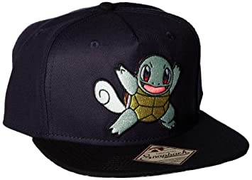 11621179814 Image Unavailable. Image not available for. Color  BIOWORLD Pokemon  Squirtle Color Block Snapback ...