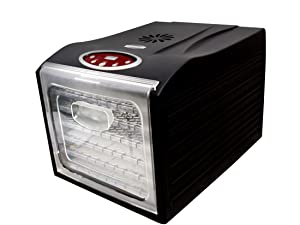 Eastman Outdoors 6 Tray Professional Food Dehydrator with Digital Timer
