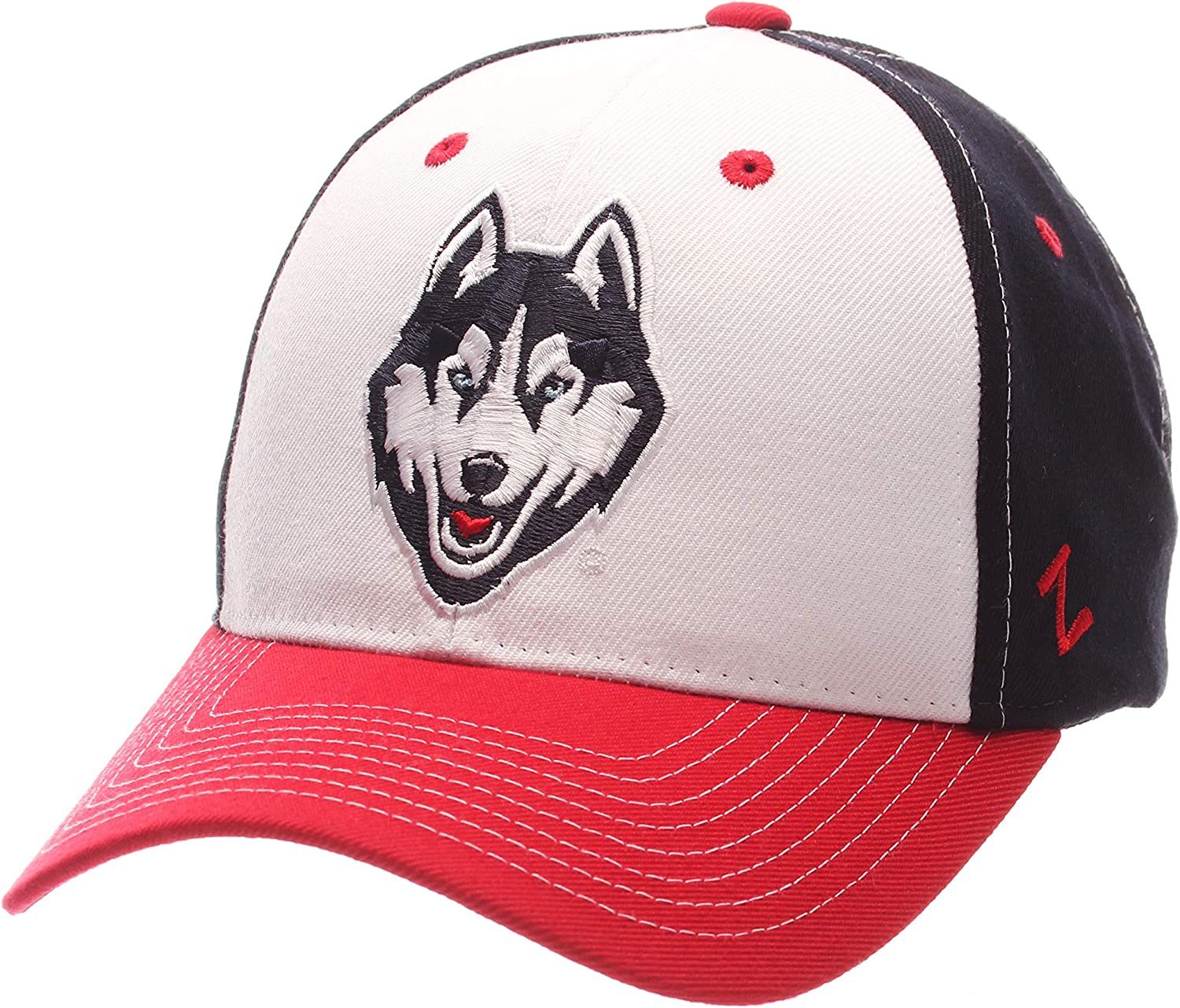 Zephyr Staple Relaxed Fit Dad Cap NCAA One Size Adjustable Baseball Hat