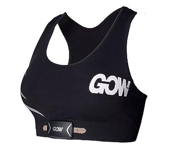 bae331c6270c9 Weartech Women s Gow Smart Sports Bra (Intergrated Cardiac Sensors Plus  Smart Bluetooth Heart Rate Monitor