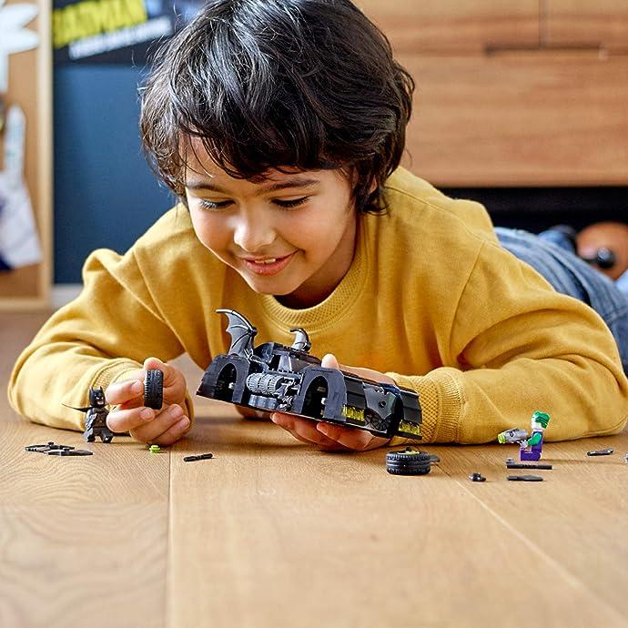 LEGO 乐高 Super Heroes 超级英雄系列 蝙蝠战车之追捕小丑 76119 积木玩具 $23.99 海淘转运到手约¥201