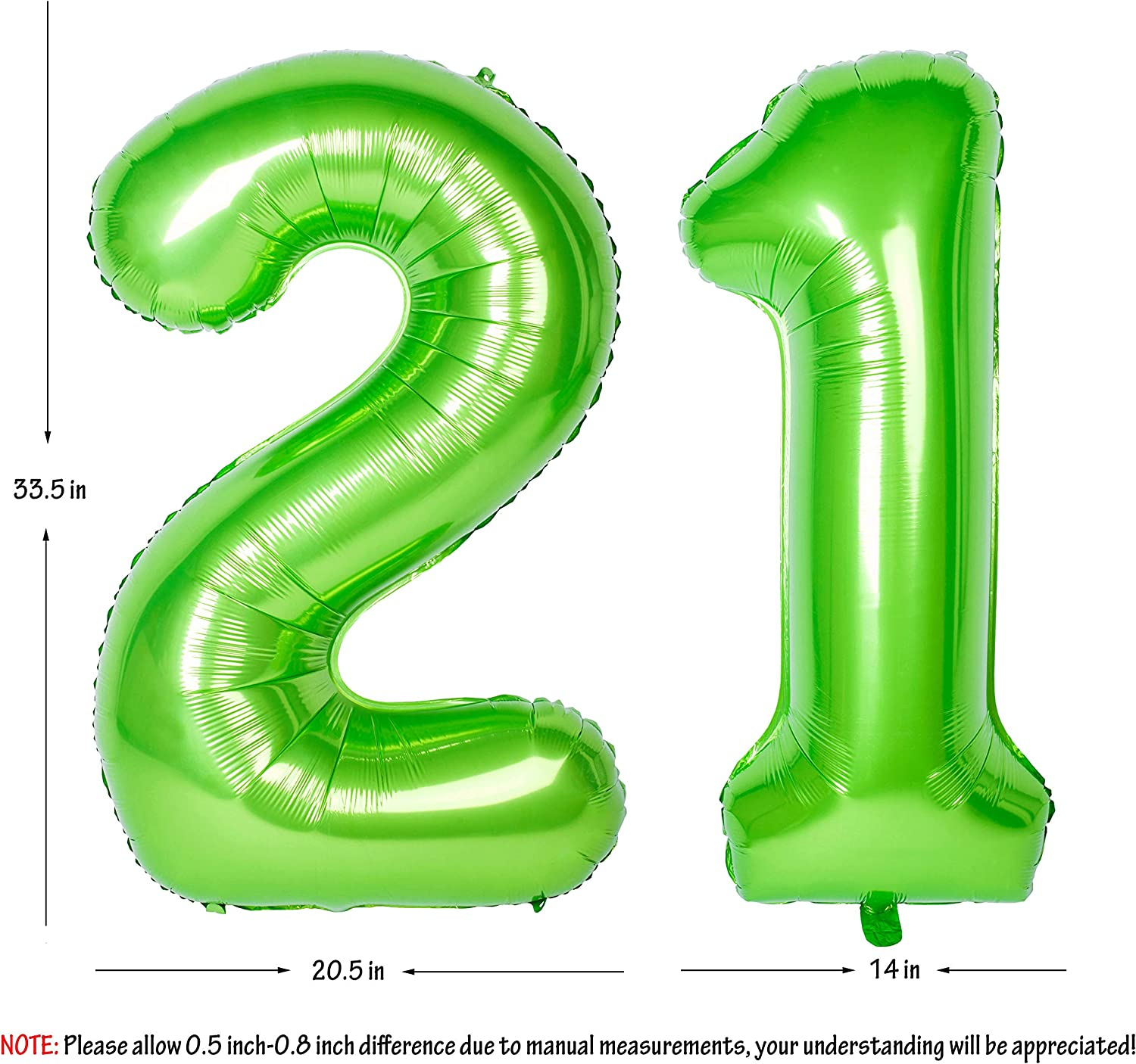 0-9 Number Foil Helium Balloon Happy New Year Wedding Birthday Party Decor