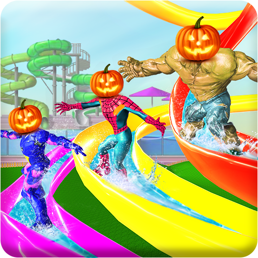 Super Water Slide Amusement ()
