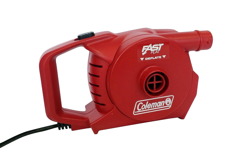 Coleman 2000019882 - Bomba de Aire eléctrica (para Usar con 230 V), Color Rojo: Amazon.es: Deportes y aire libre