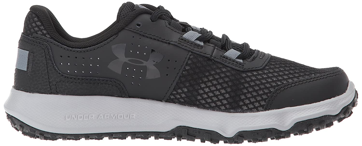 Under Armour B01MYY58WB Women's Toccoa Running Shoe B01MYY58WB Armour 5 M US|Black (002)/Overcast Gray 7a3da0
