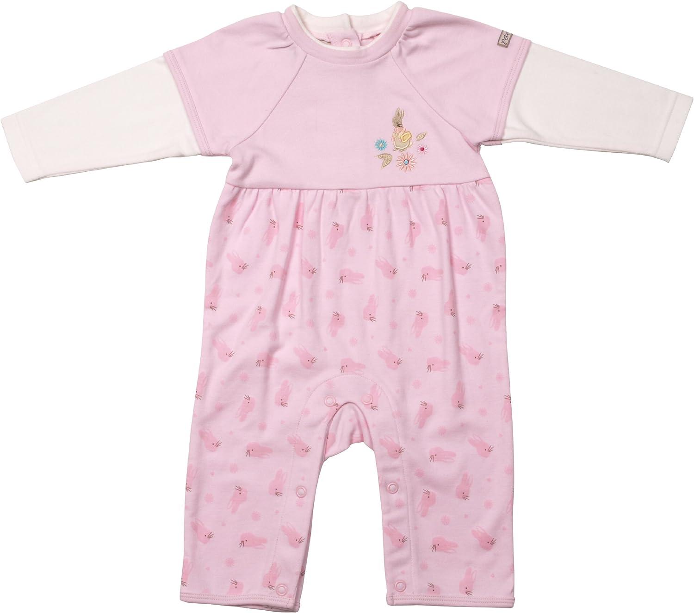 Peter Rabbit Beatrix Potter Baby Girls Fashion Romper