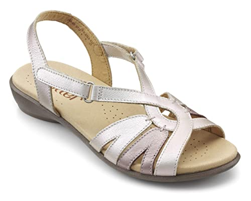 43f1a4ca91d Hotter Womens Flare Extra Wide Sandals  Amazon.co.uk  Shoes   Bags