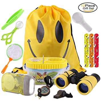 RIZUIEI Gift Toys For 3 10 Years Old Boys GirlsAdventure Outdoor Explorer Kit