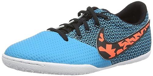 Nike Elastico Pro III IC Jr - Zapatillas de fútbol Unisex niños, Azul (bl lagoon/ttl crmsn-blk-white), 28 EU: Amazon.es: Zapatos y complementos