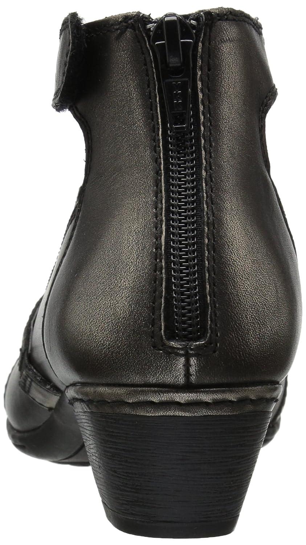 Rockport Women's Cobb Hill Adrina Dress Pump B01MYBYPYA 6.5 B(M) US|Pewter Leather
