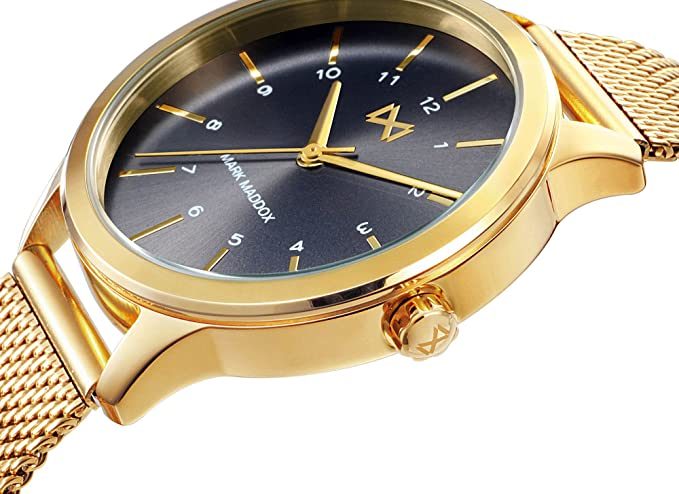 Smart Analog Mit Edelstahl Mark Quarz Damen Watch Armbanduhr Maddox lJ1Fuc3TK