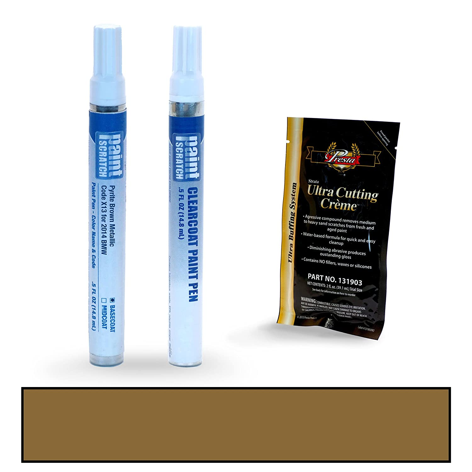PAINTSCRATCH Monte Carlo Blue Metallic B05 for 2014 BMW M5 - Touch Up Paint Pen Kit - Original Factory OEM Automotive Paint - Color Match Guaranteed