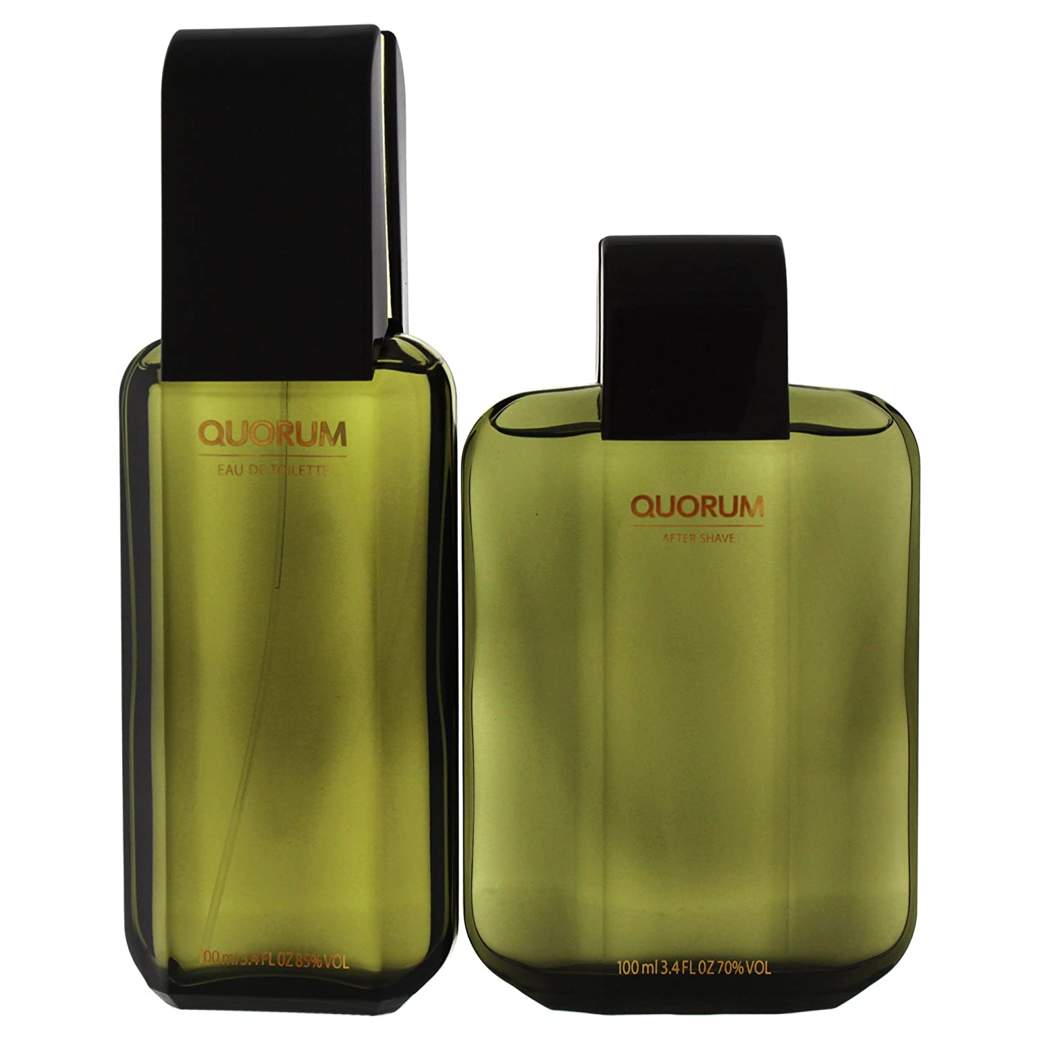 Quorum - Estuche de regalo Eau de Toilette, Multicolor (ANTQUOM92100001): Amazon.es