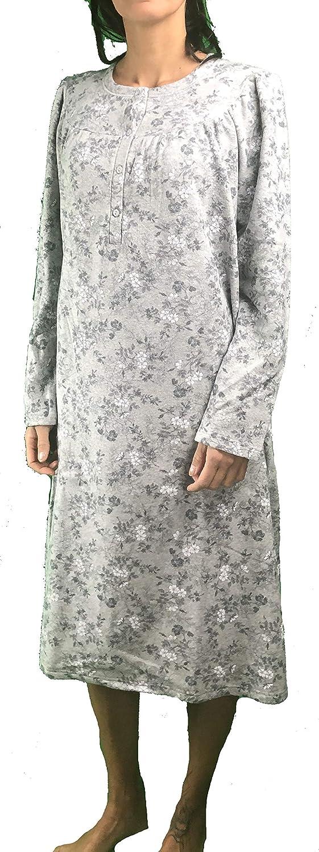Linclalor Camicia da Notte Cotone Felpato Art 77515