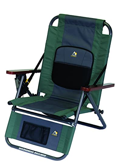 amazon com gci outdoor wilderness recliner backpack outdoor chair