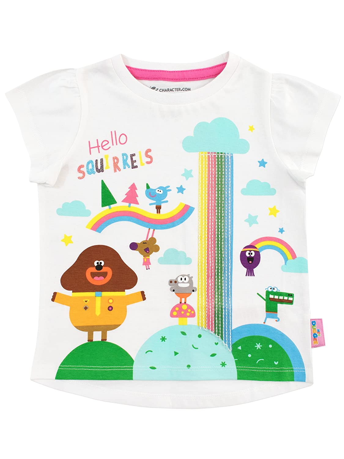 Hey Duggee Girls Squirrel Club T-Shirt