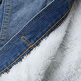 OWMEOT Womens Parka Jacket Hooded Winter Coats Faux Fur Outdoor Coat