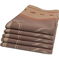ZOLLNER set tea towels, dishtowels, cotton, approx. 50x70 cm, 008