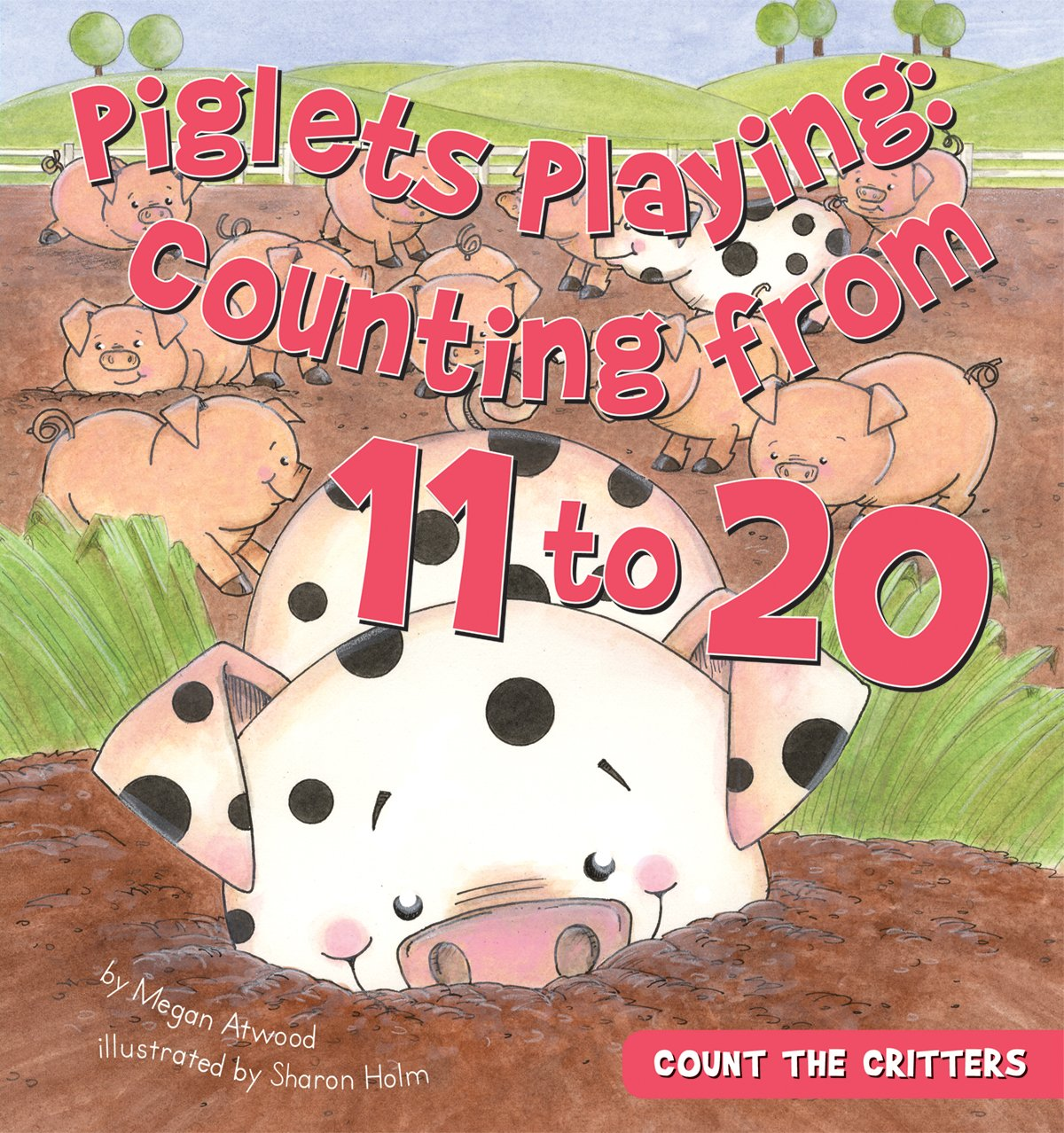 Download Piglets Playing: Counting from 11 to 20 (Count the Critters) PDF