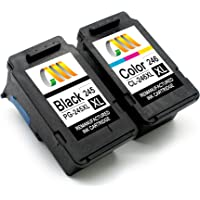 CMCMCM Remanufactured Ink Cartridge Replacement for Canon PG-245XL 245 XL CL-246XL 246 XL Work with Pixma iP2820 MG2420…