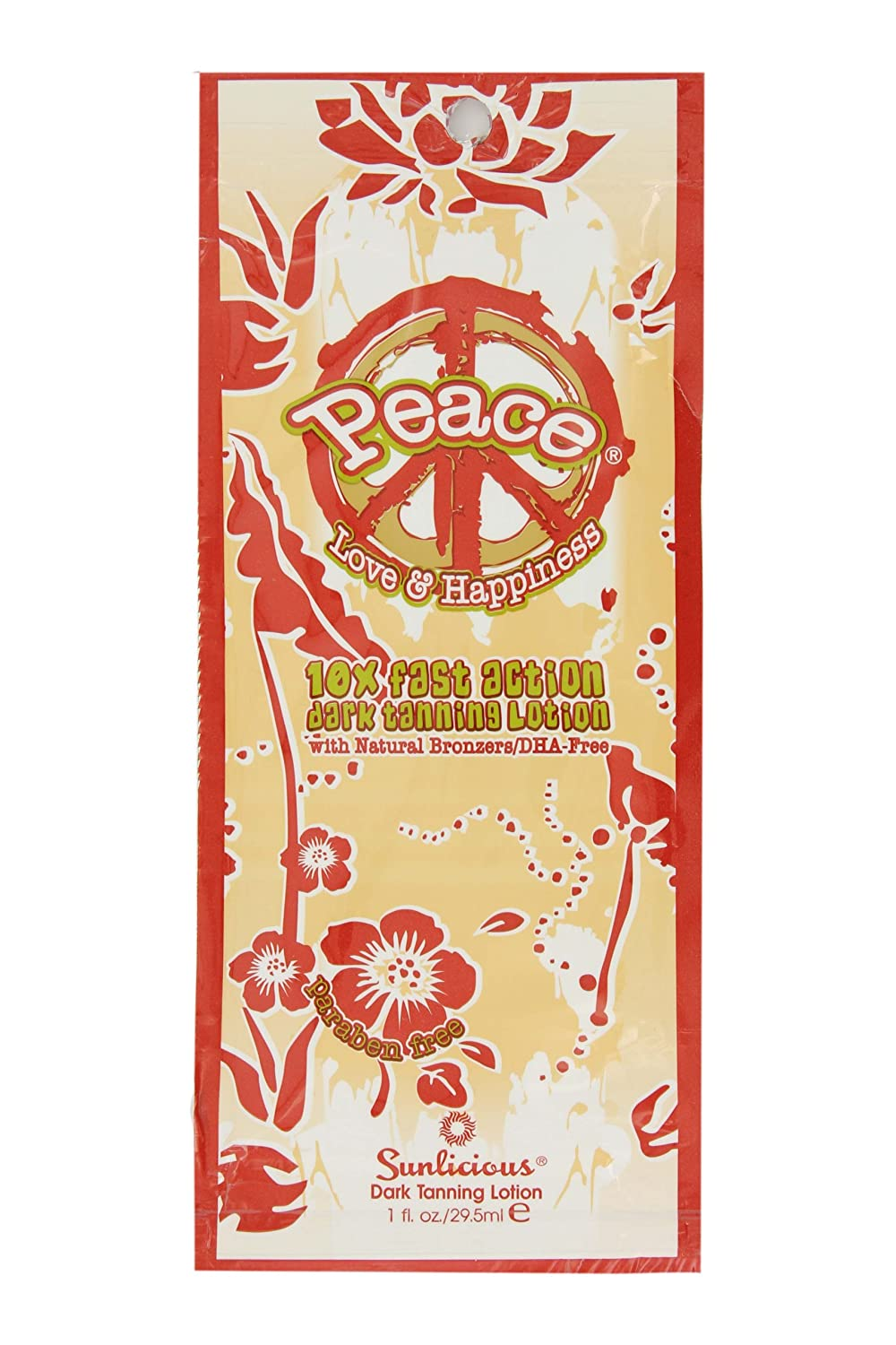 Synergy Tan Peace Love and Happiness Fast Action Dark Tanning Lotion 369 ml ST2027
