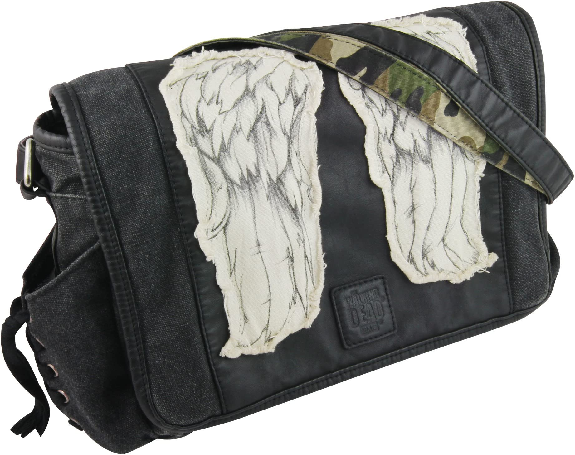 Jual Murah Osprey Flap Jill Mini Messenger Bag Black Free Uk Giordano Jam Tangan Pria Silver Stainless Steel P158 22 The Walking Dead Daryl Wings Delivery Image