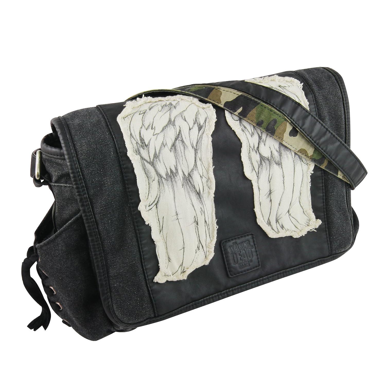 The Walking Dead Daryl Wings Mini Messenger Bag - Black The Coop TWD-L122