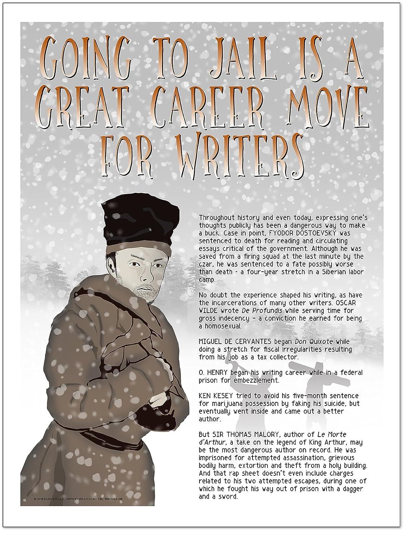 amazon com famous author mini educational poster series english