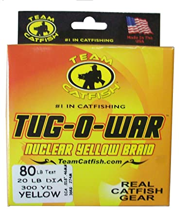 Team Catfish Tug O War Braided Line 80 LB – 300yd-TOW80Y3